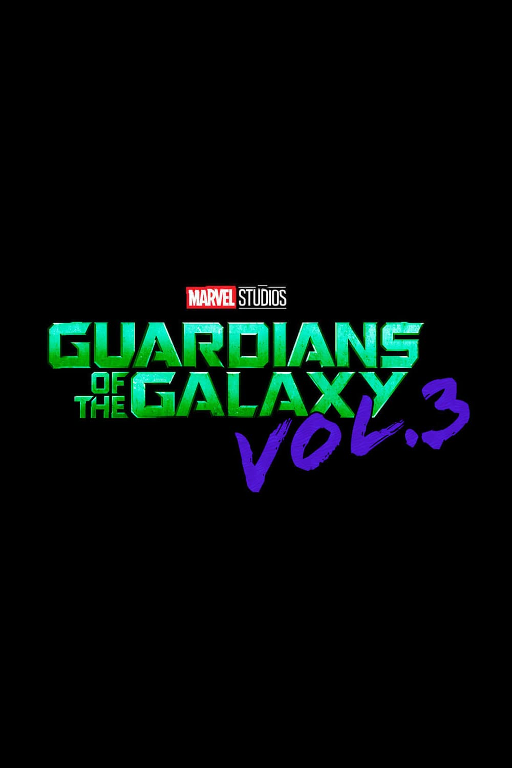 Guardians of the Galaxy Vol. 3 poster