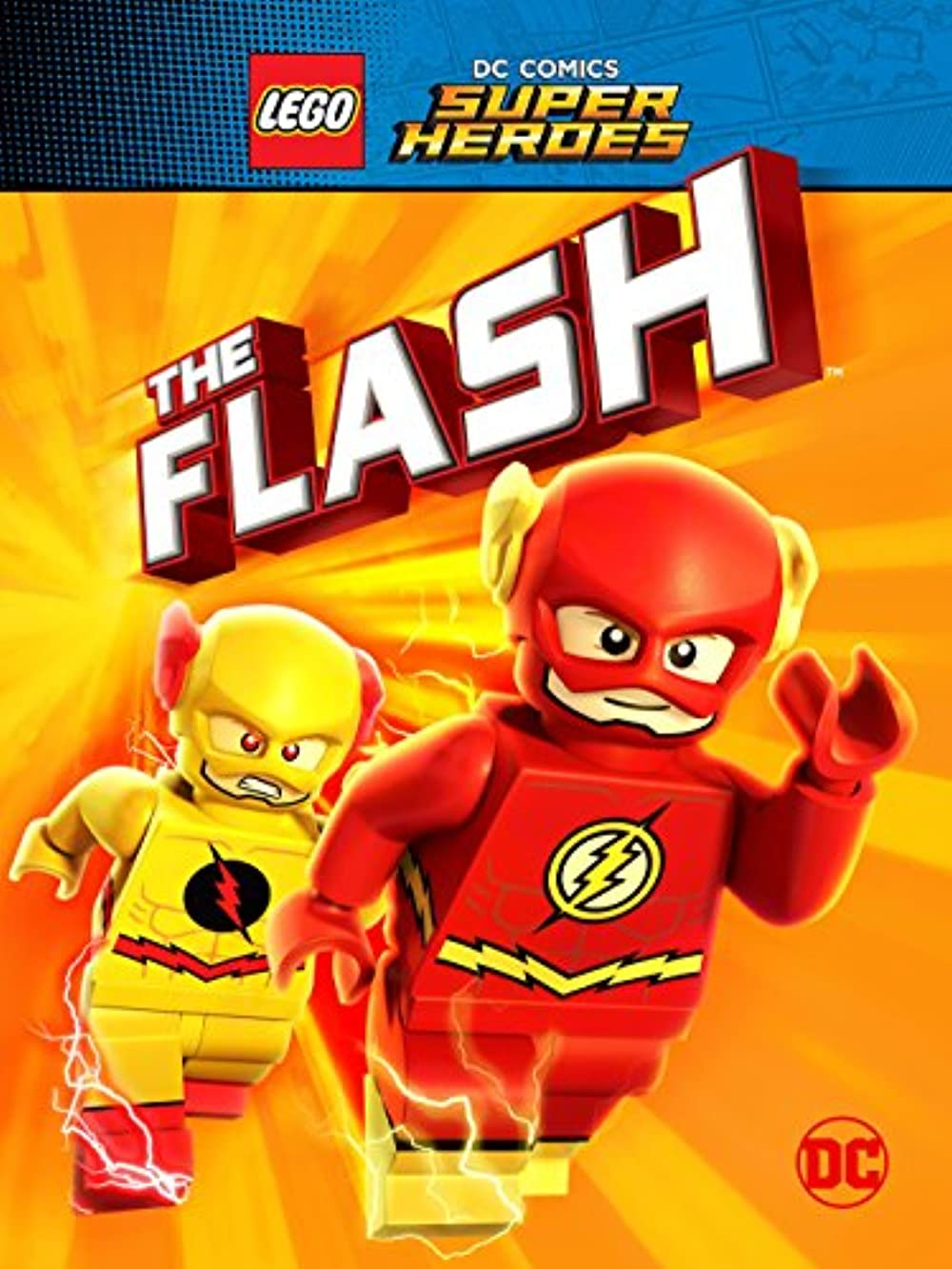 Lego DC Comics Super Heroes: The Flash poster
