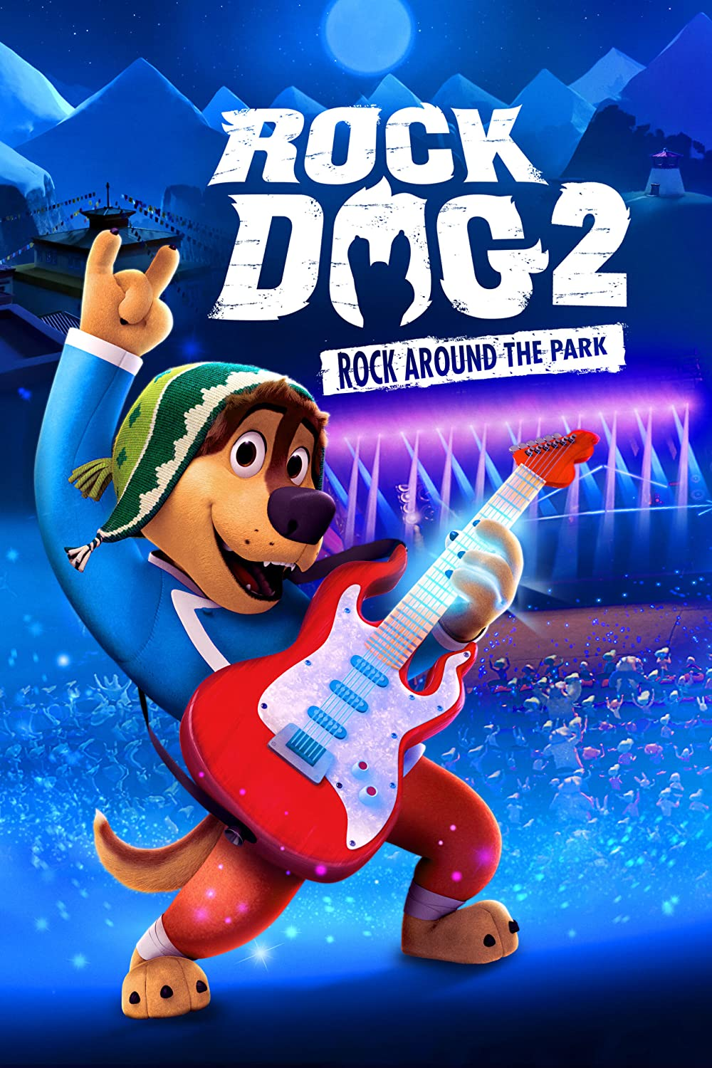 Rock Dog 2: Rock Around the Park poster
