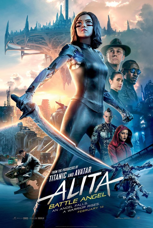 alita battle angel dvd