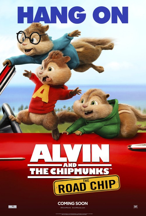 Alvin and the Chipmunks: The Road Chip poster