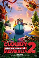 Cloudy with a Chance of Meatballs 2 DVD Release