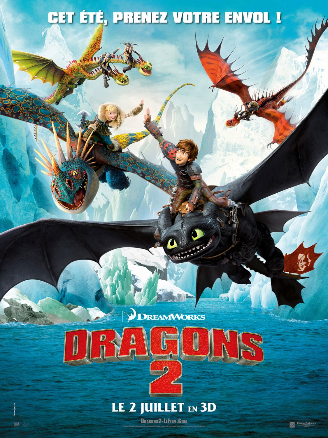 How To Train Your Dragon 2 Movie Poster How To Train Your Dragonflix  Release Date Solution