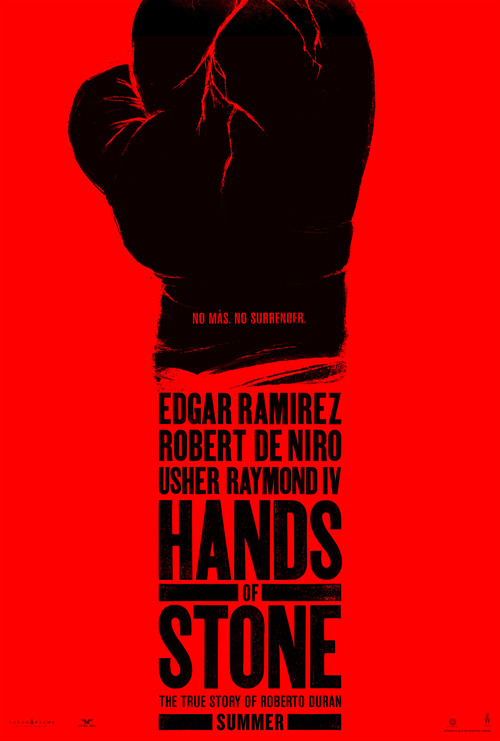 Hands of stone movie release date