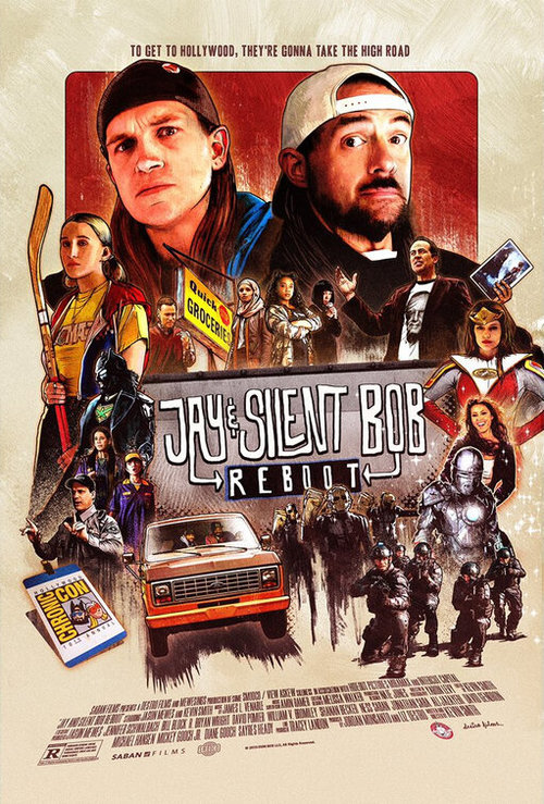Jay and Silent Bob Reboot poster