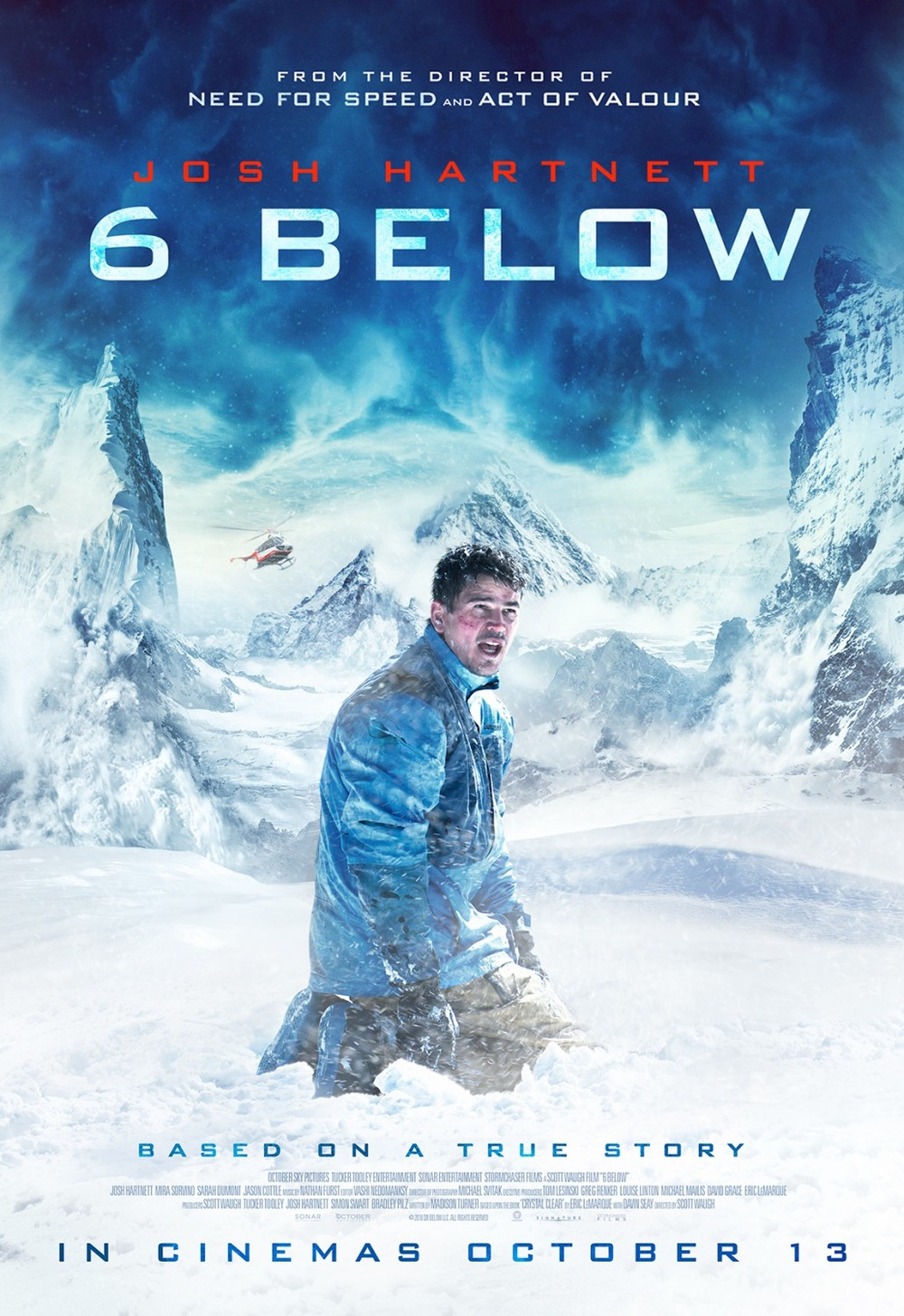 6 Below Miracle On The Mountain Poster