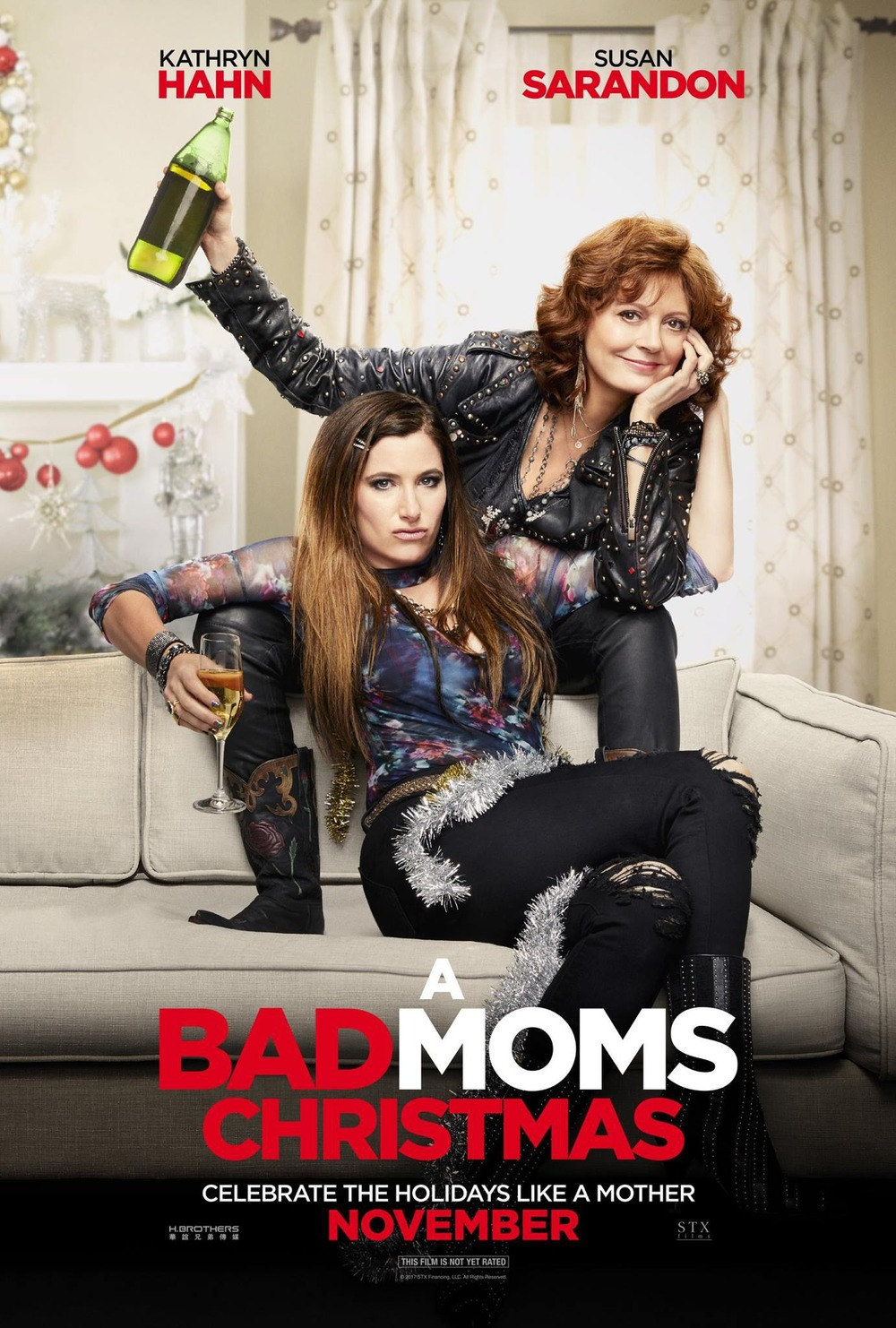 Full Free Watch A Bad Moms Christmas (2017) Movies Trailer