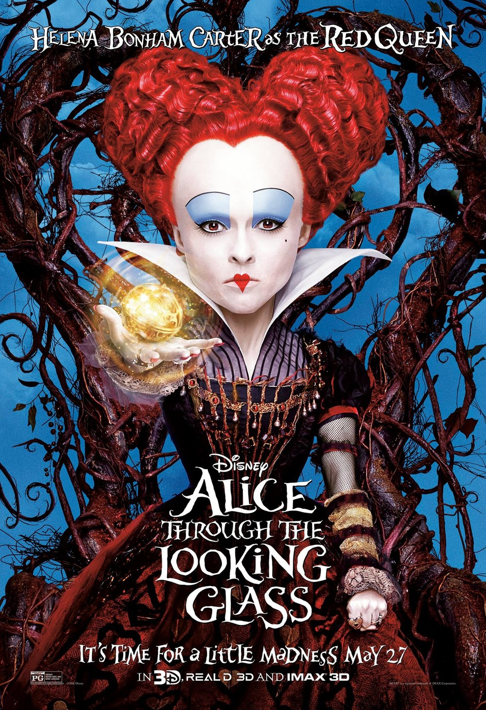 alice through the looking glass dvd release date redbox