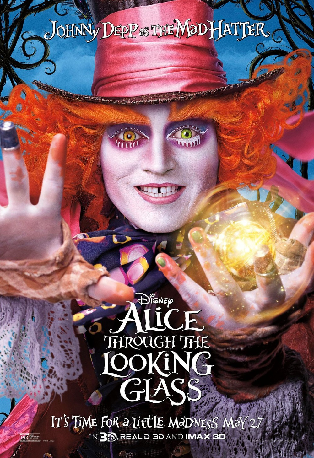 alice through the looking glass dvd release date redbox. Black Bedroom Furniture Sets. Home Design Ideas