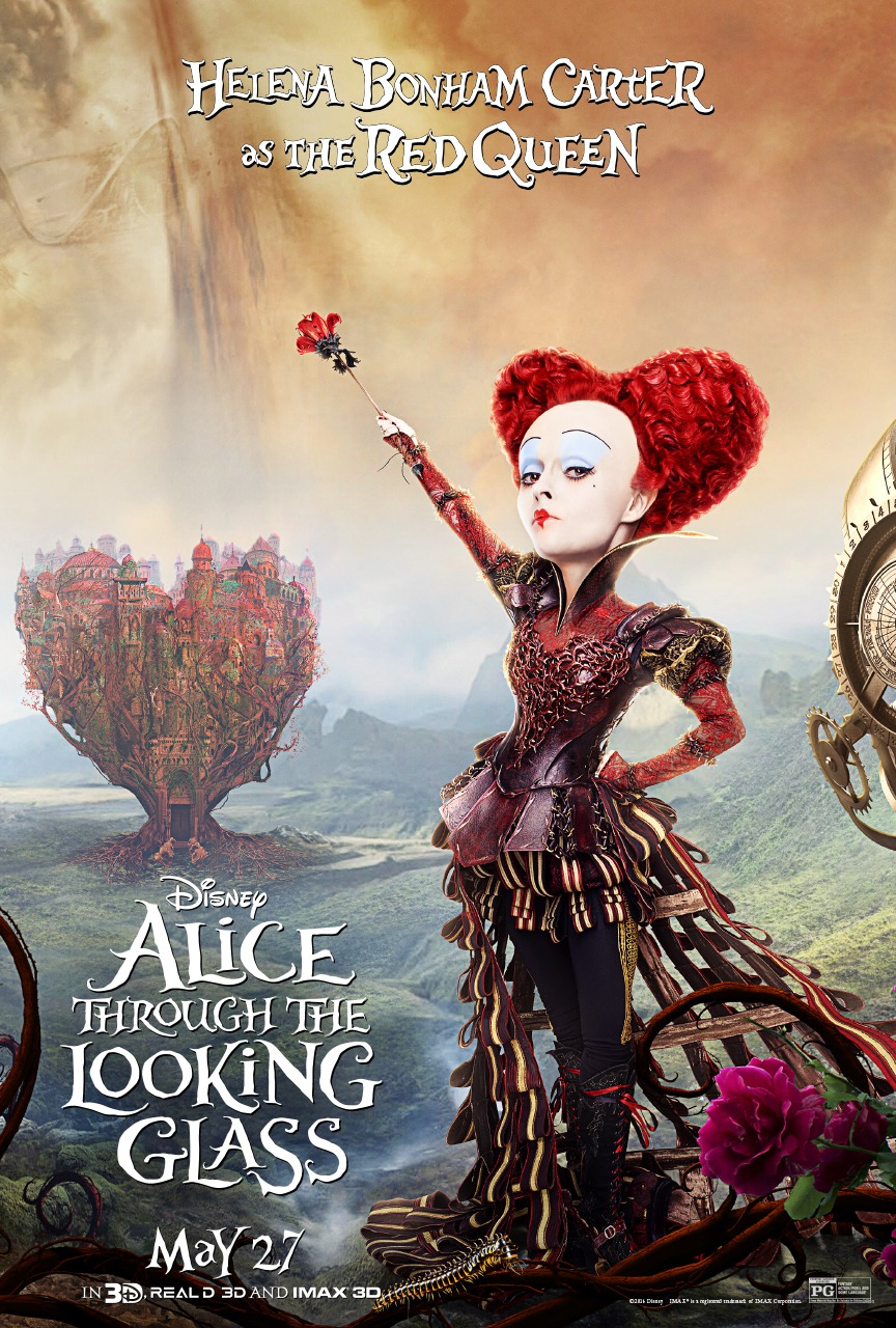 Alice Through the Looking Glass (2016) The Past of Red ...