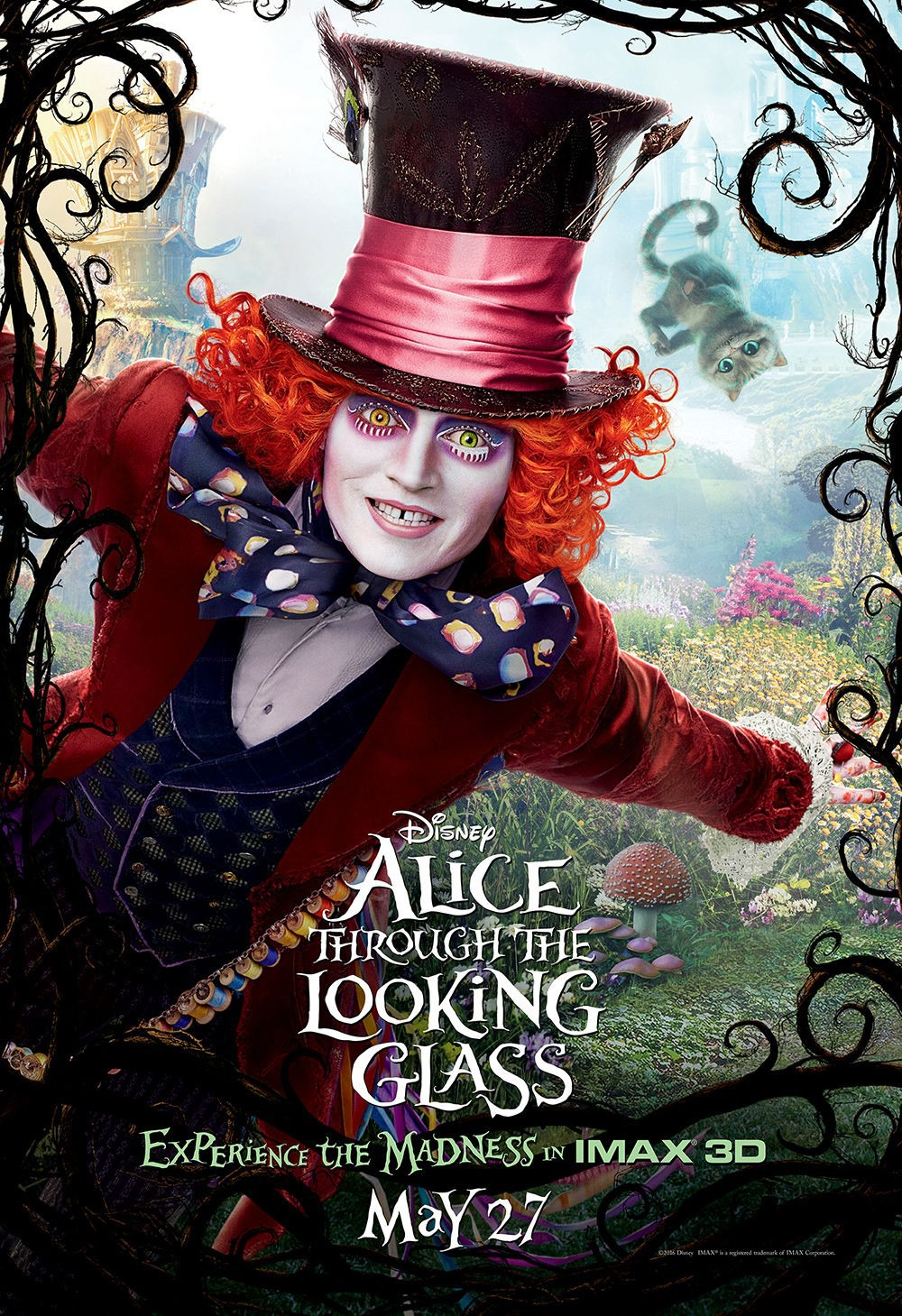 Alice Through The Looking Glass Redbox