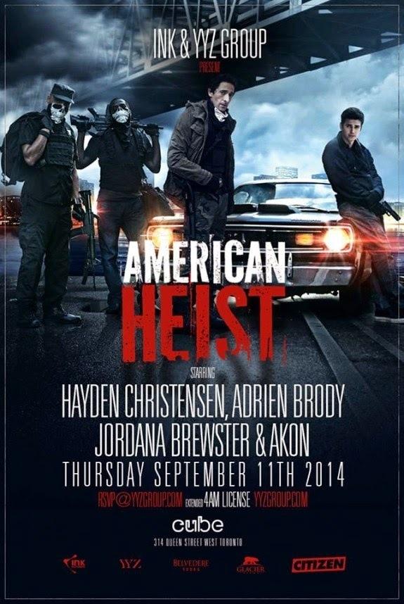American Heist DVD Rel... Adrien Brody