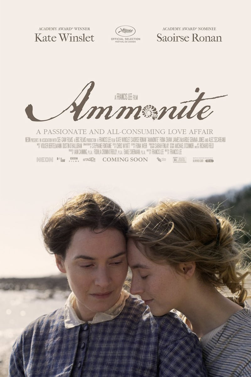 Ammonite DVD Release Date