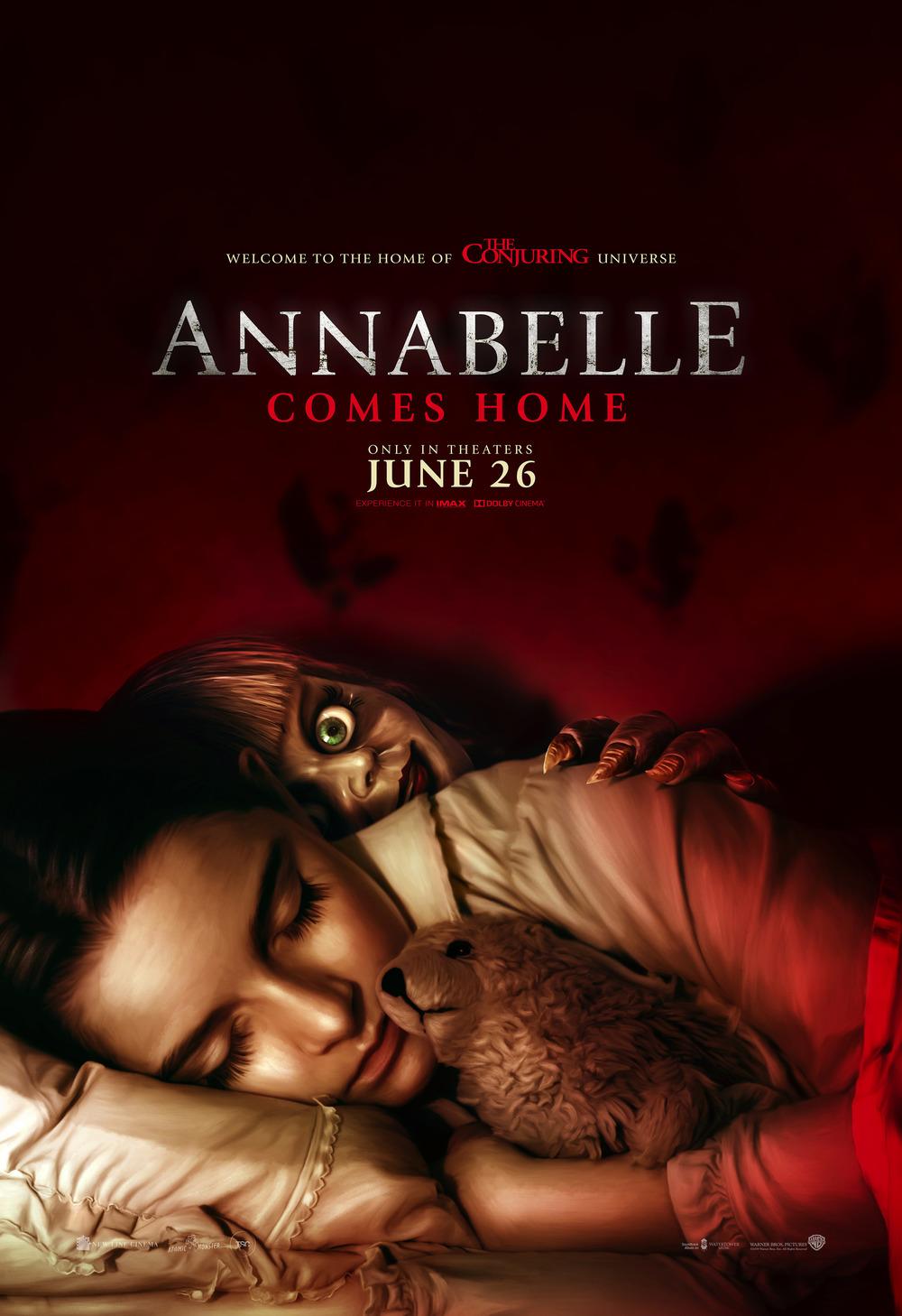Annabelle Comes Home Dvd Release Date Redbox Netflix