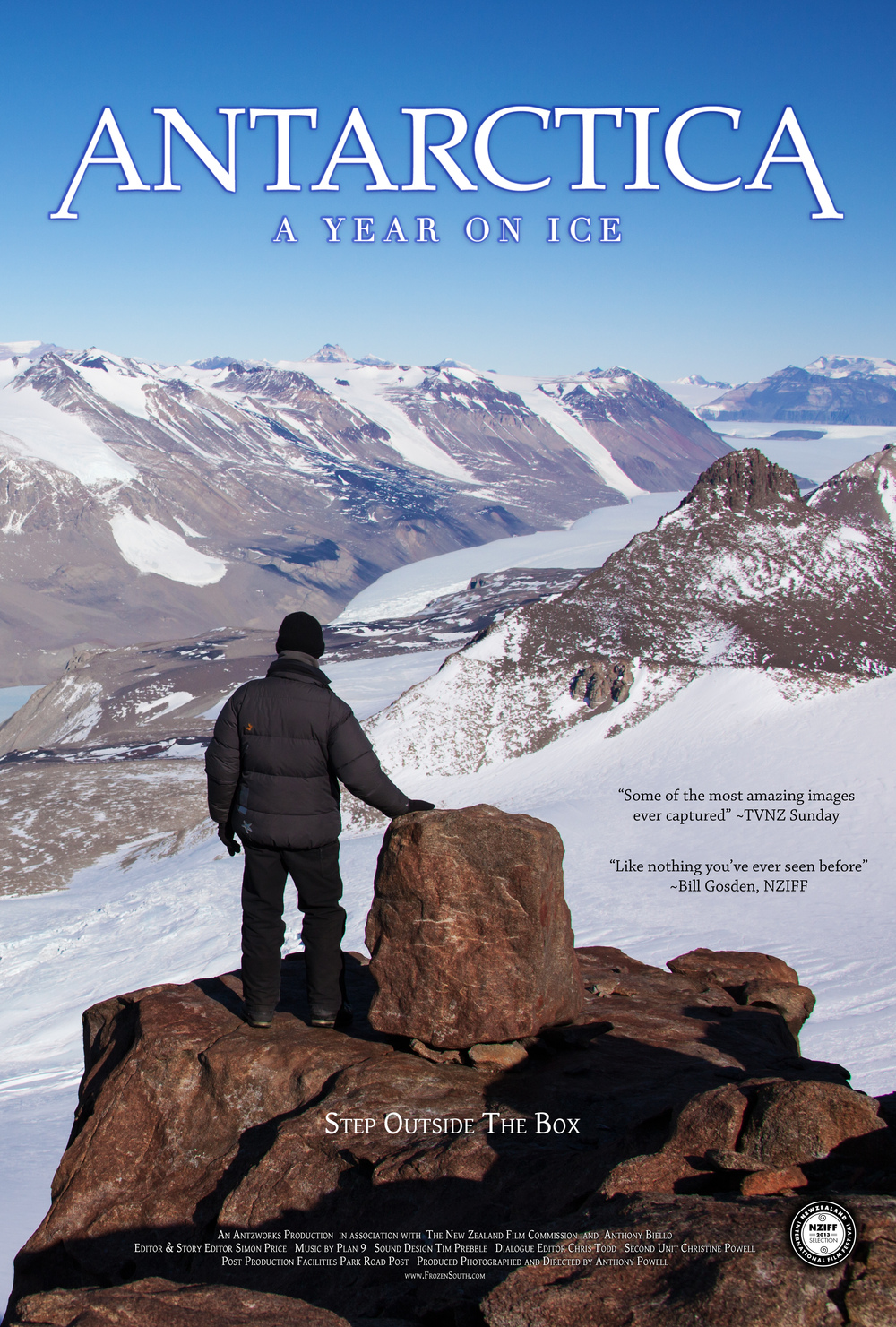 antarctica  a year on ice dvd release date