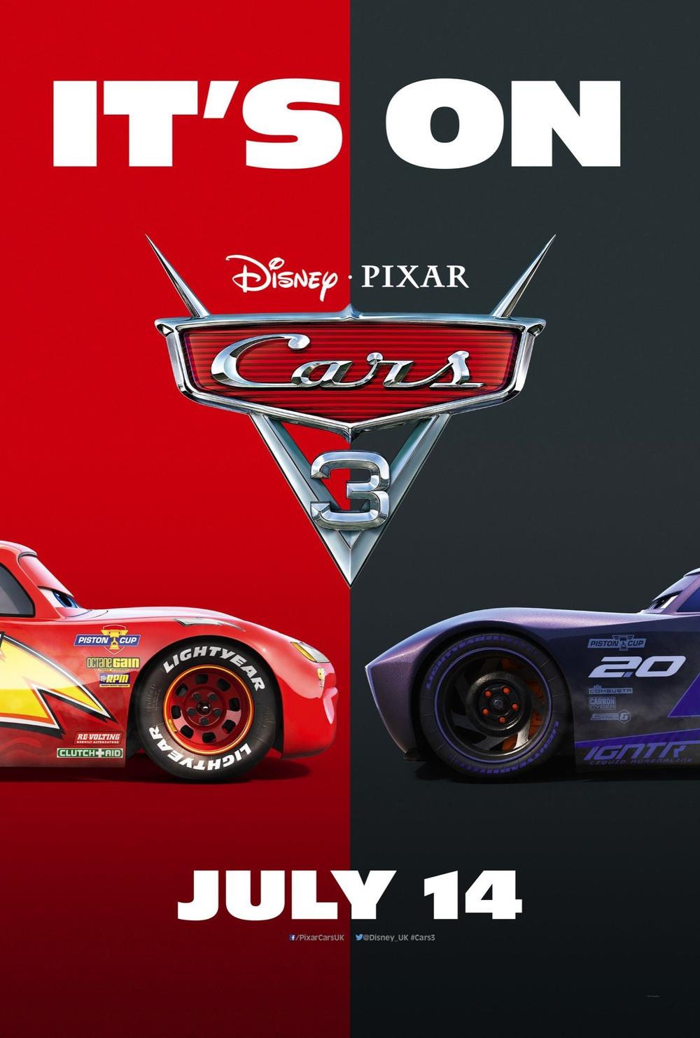 Cars 3 release date