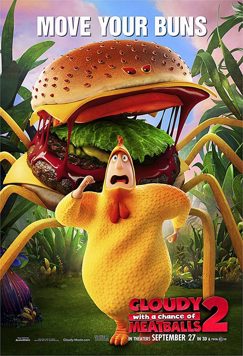 Cloudy with a Chance of Meatballs 2 DVD Release Date ...