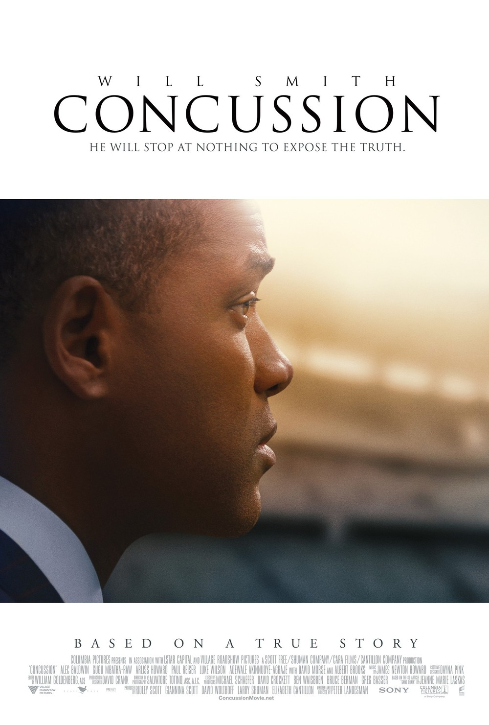 Concussion movie release date in Sydney