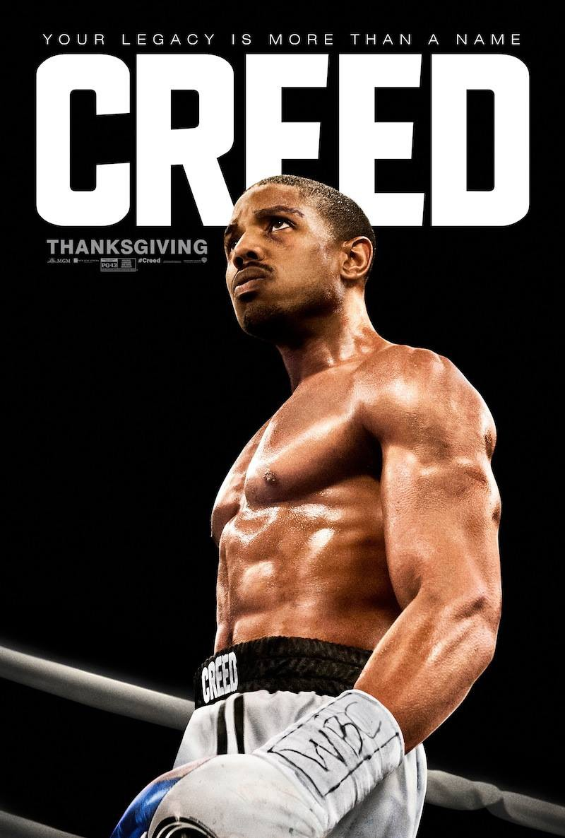 "... release date for ""Creed"", which will release in theaters on"