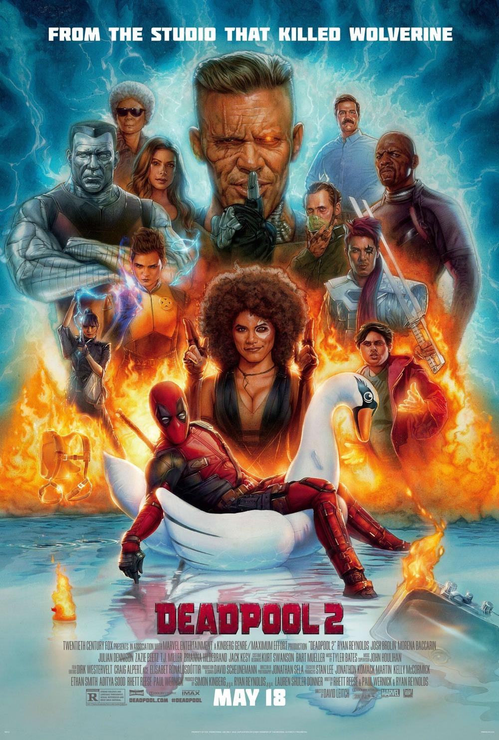 Release date for deadpool in Brisbane