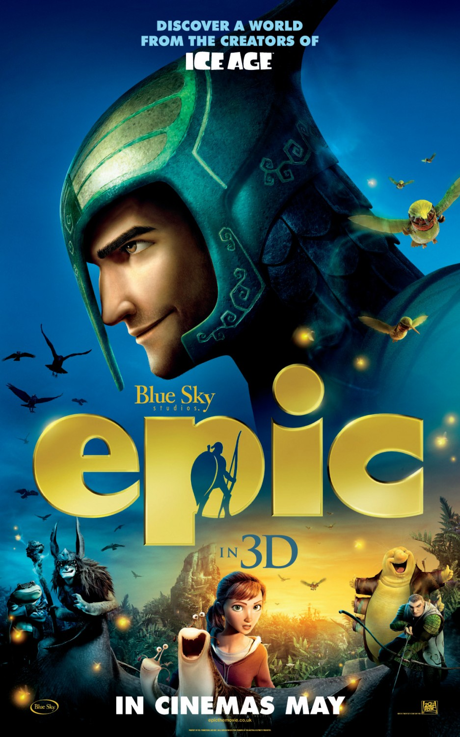 Epic Trailer: Epic Movie Posters