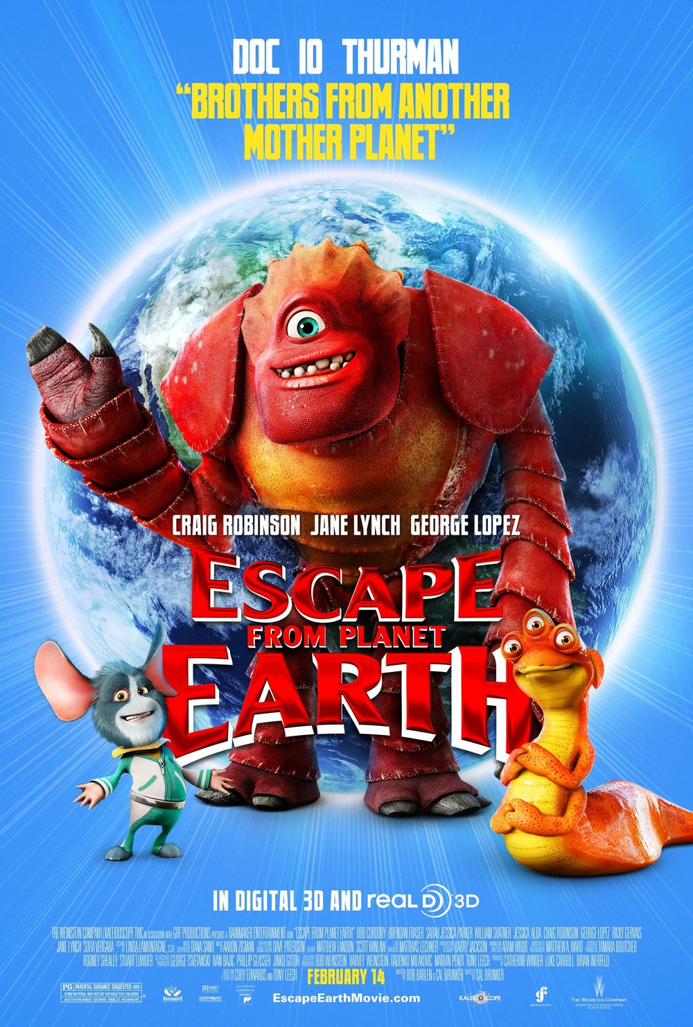 Escape from Planet Earth DVD Release Date | Redbox, Netflix, iTunes, Amazon
