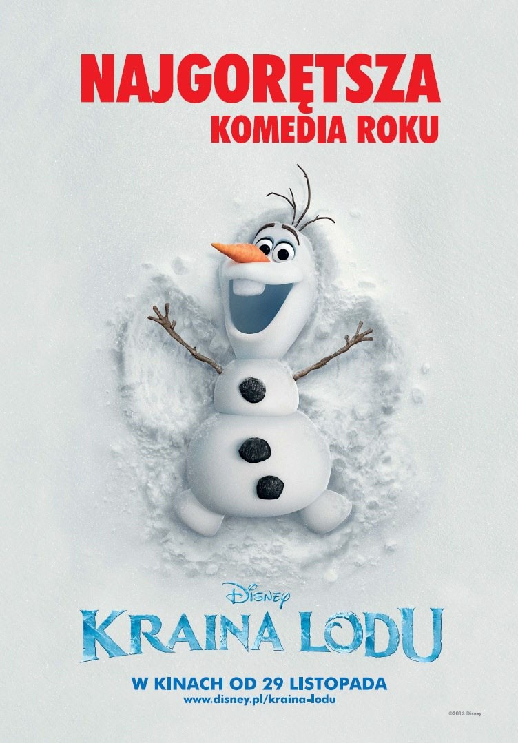 Frozen Poster Olaf Frozen DVD Release Dat...