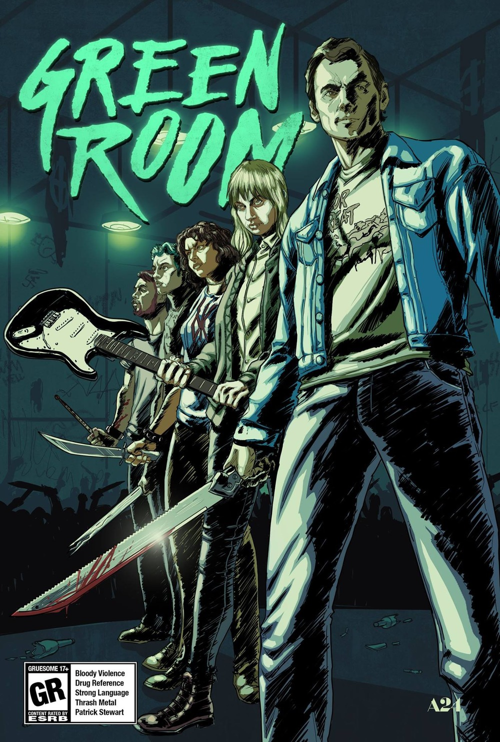 Green Room Film Poster
