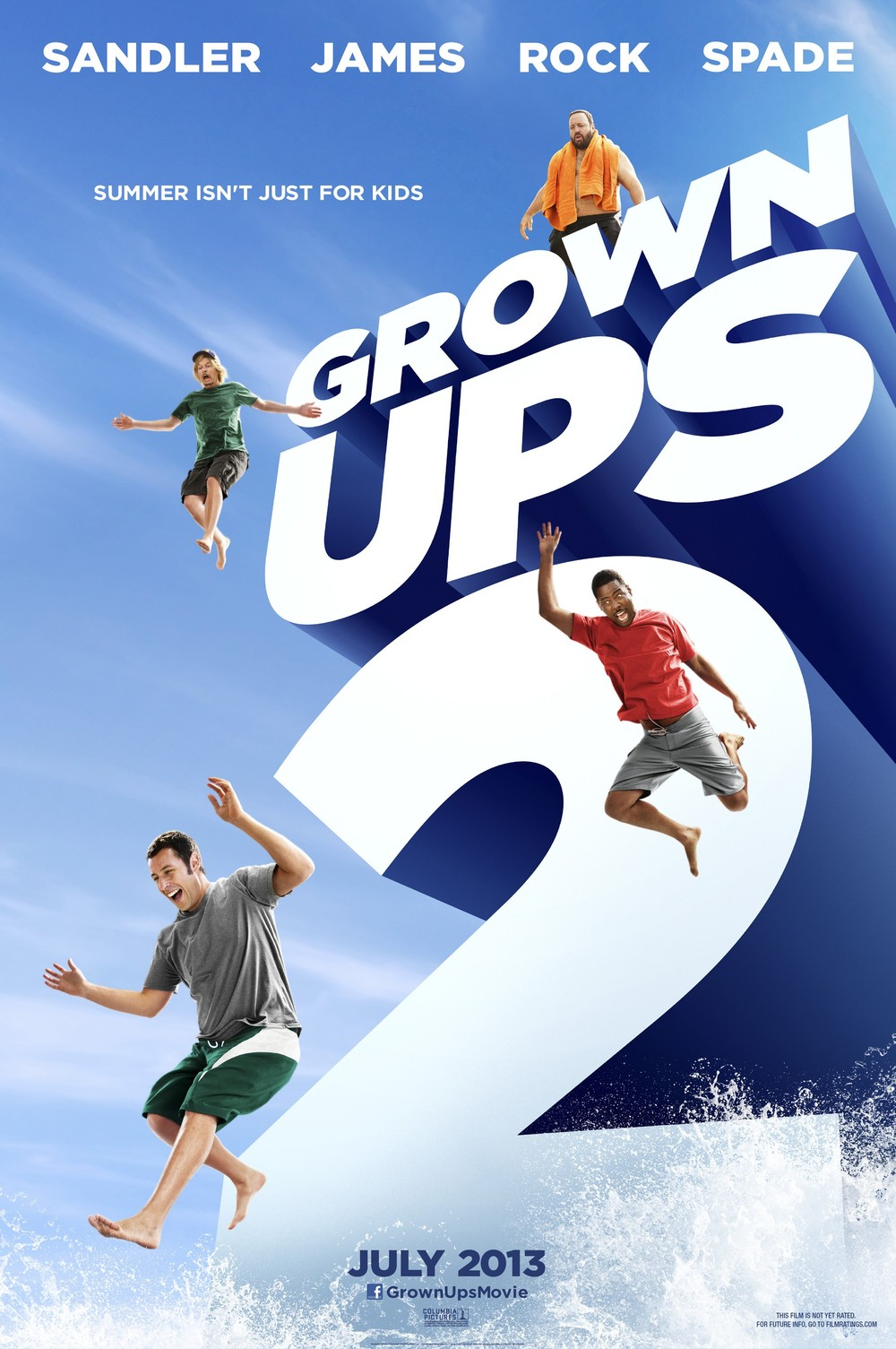 Grown Ups 2 DVD Releas...