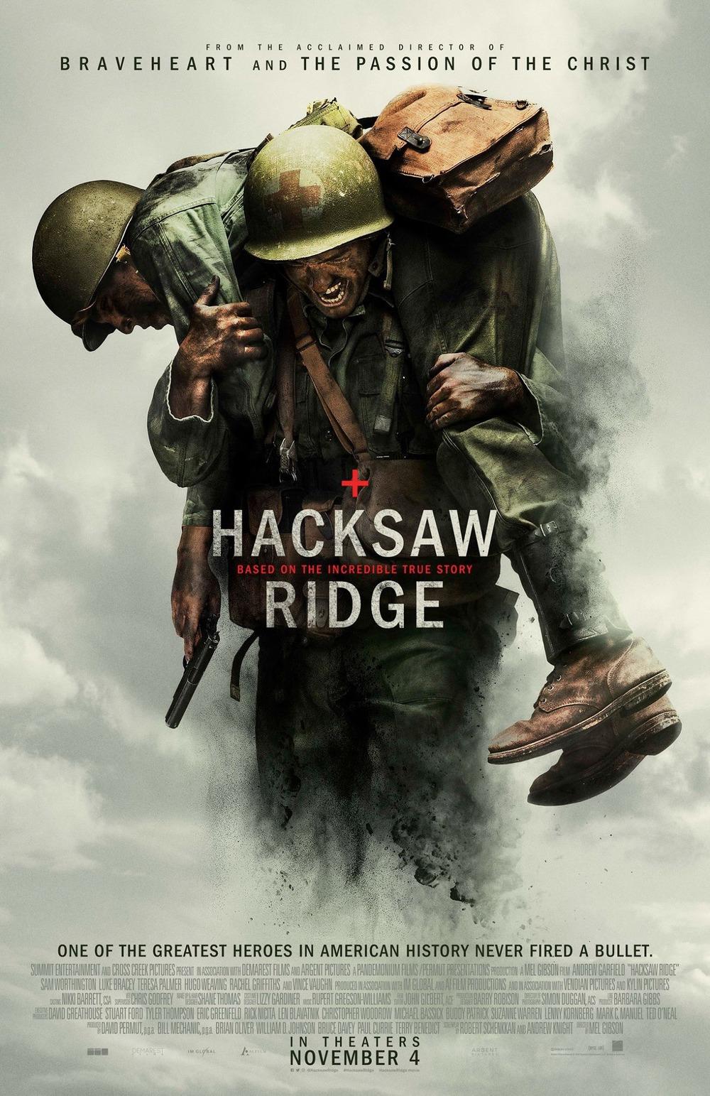 Hacksaw Ridge DVD Release Date | Redbox, Netflix, iTunes
