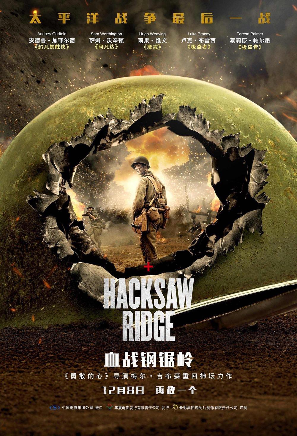 Hacksaw Ridge Movie4k