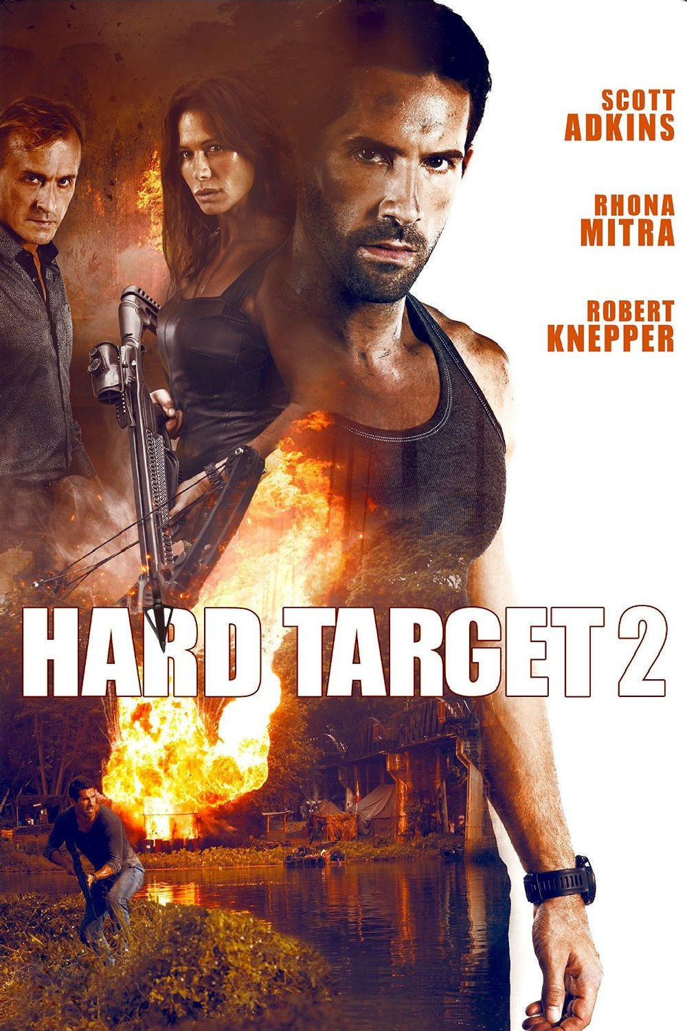 Amazon New Releases: Hard Target 2 DVD Release Date