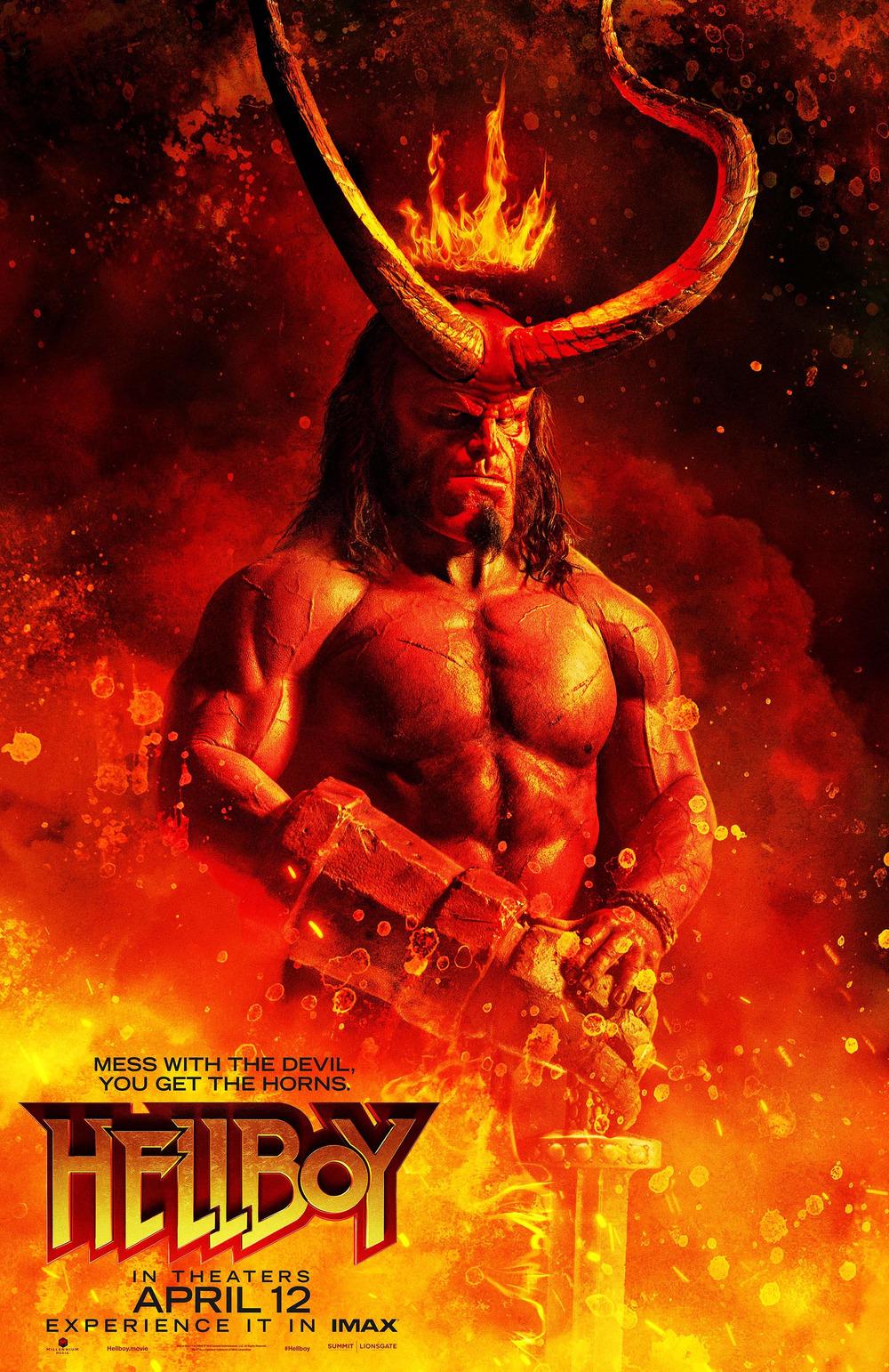 Hellboy DVD Release Date | Redbox, Netflix, iTunes, Amazon