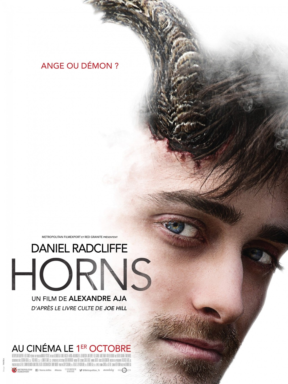 Horns DVD Release Date | Redbox, Netflix, iTunes, Amazon Horns Movie Poster