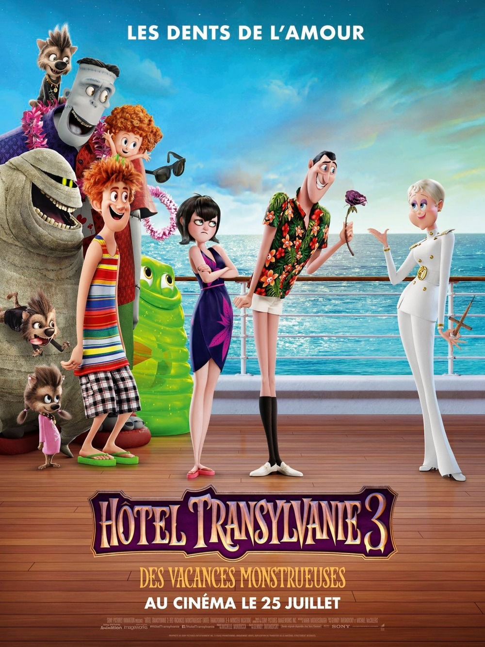 Hotel Transylvania 3 Summer Vacation Poster