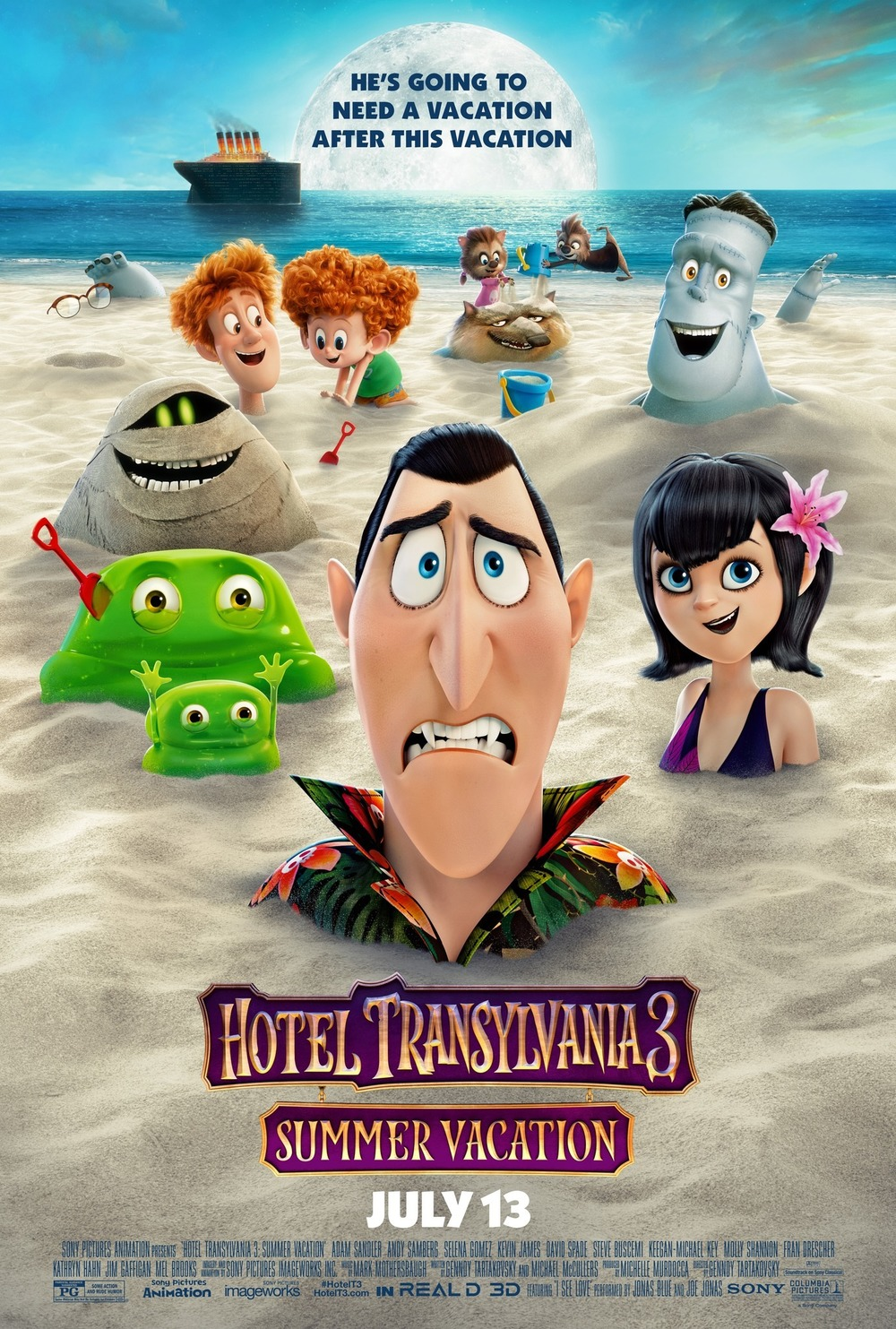 Hotel Transylvania 3: Summer Vacation DVD Release Date ...
