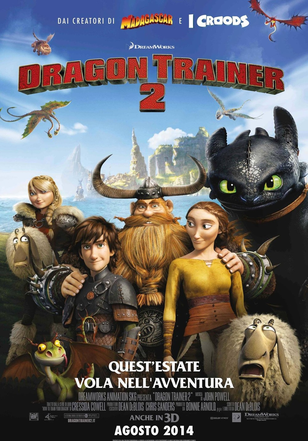 How to train your dragon 2 dvd release date redbox netflix how to train your dragon 2 poster ccuart Gallery