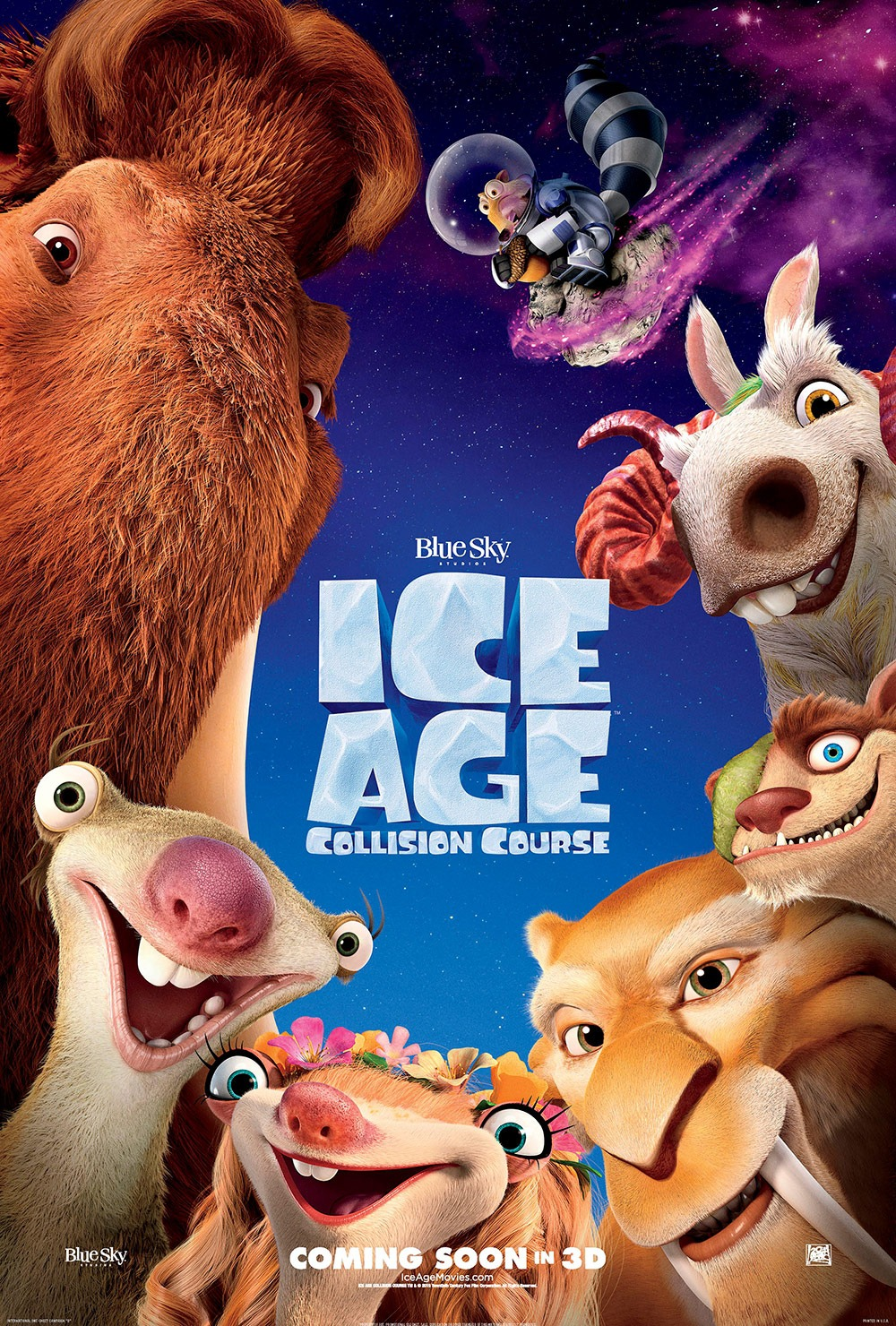 Ice Age: Collision Course DVD Release Date | Redbox ...