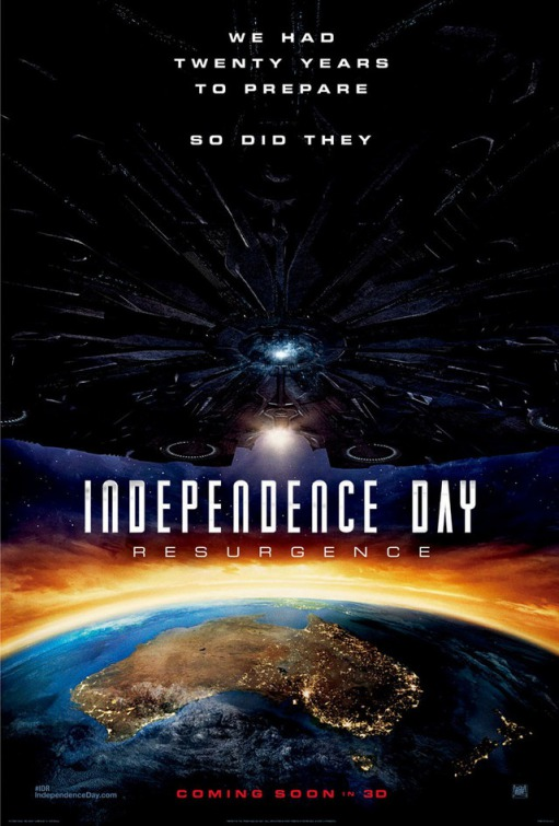Independence Day: Resurgence DVD Release Date   Redbox ...