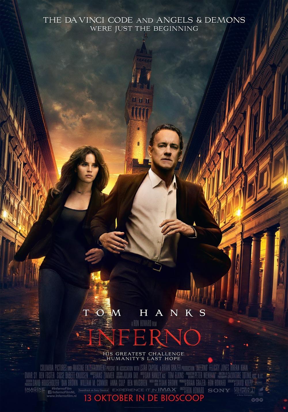 inferno dvd release date redbox netflix itunes amazon
