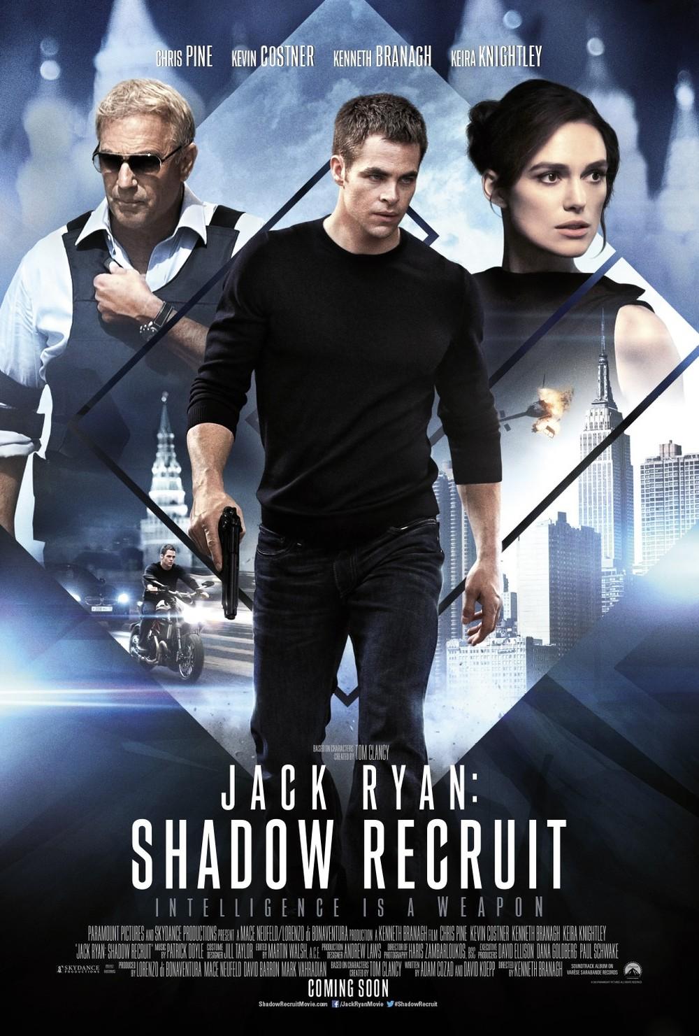 jack ryan  shadow recruit dvd release date