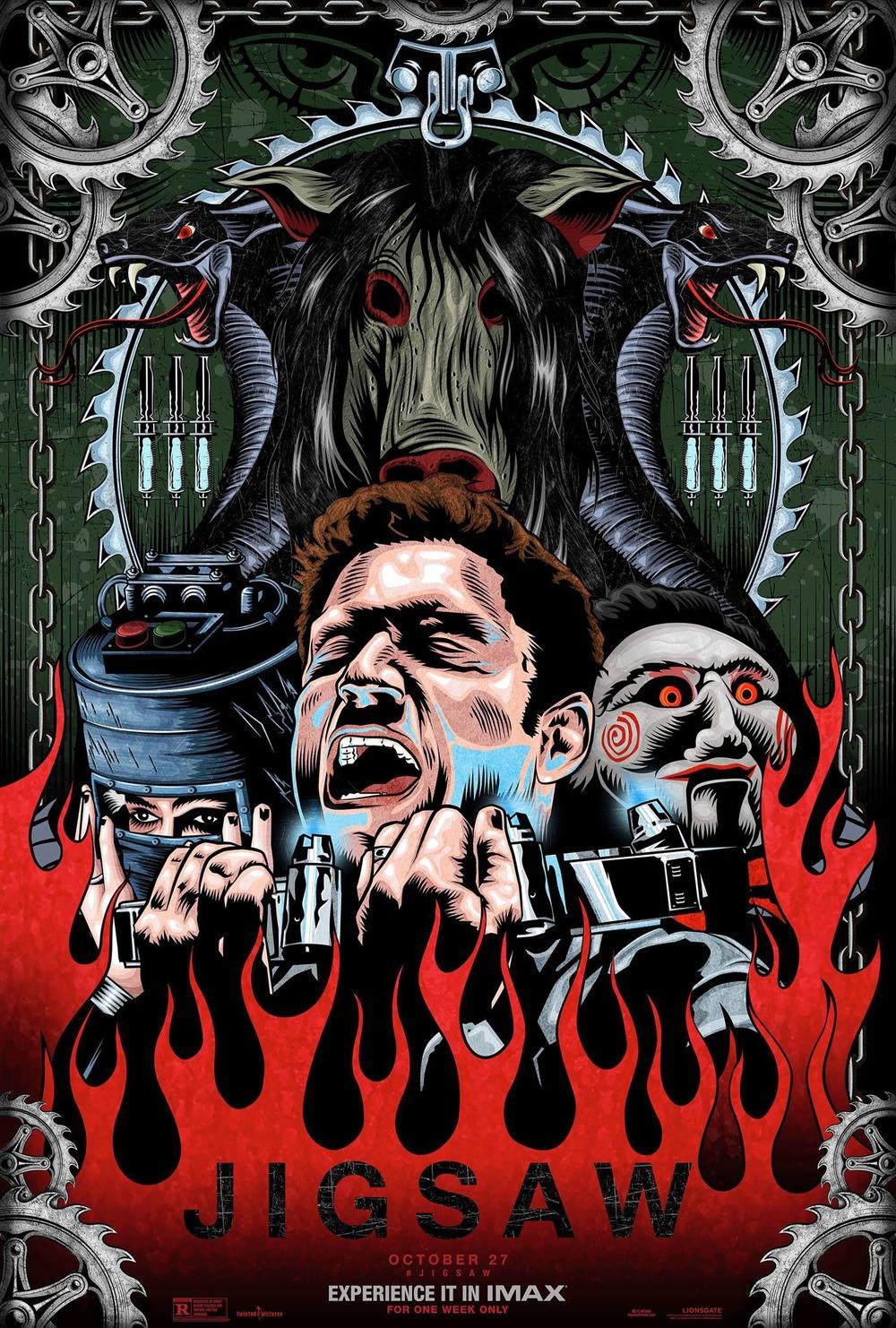 Jigsaw DVD Release Date | Redbox, Netflix, iTunes, Amazon