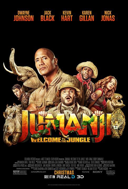 jumanji welcome to the jungle dvd release date redbox netflix itunes amazon. Black Bedroom Furniture Sets. Home Design Ideas