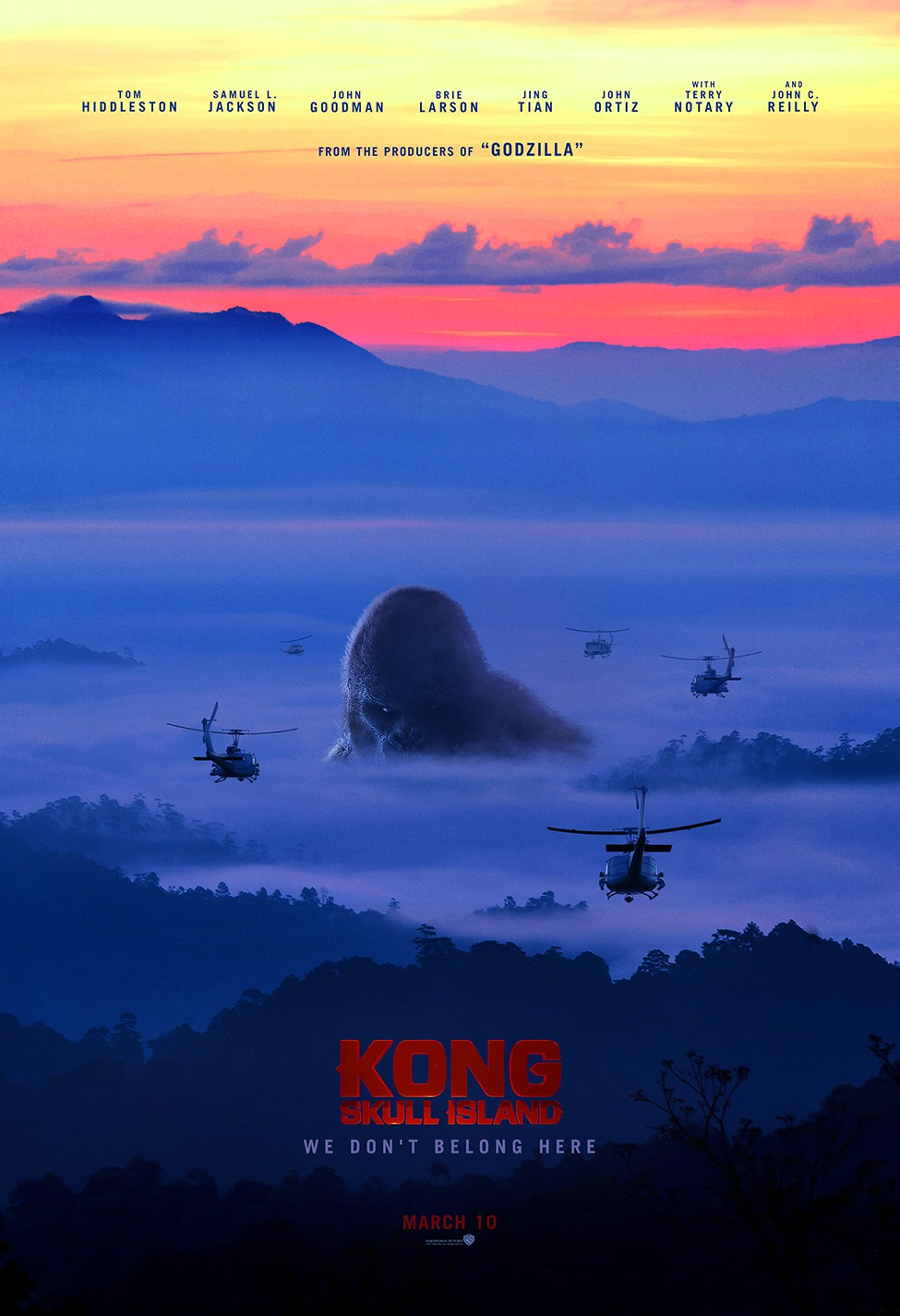 Kong Skull Island Full Movie Trailer