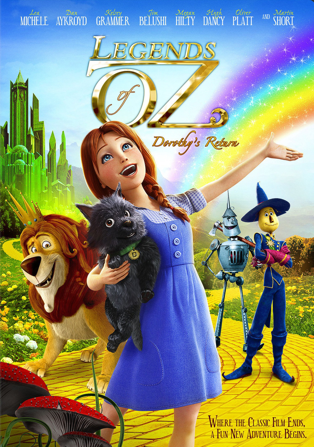 Legends of Oz: Dorothy's Return DVD Release Date | Redbox ...