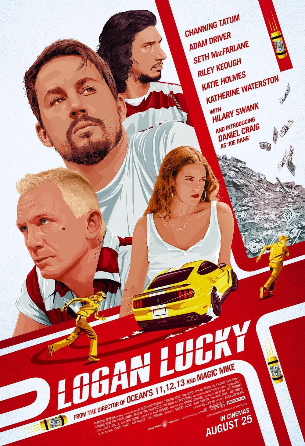 Logan Lucky Kinostart