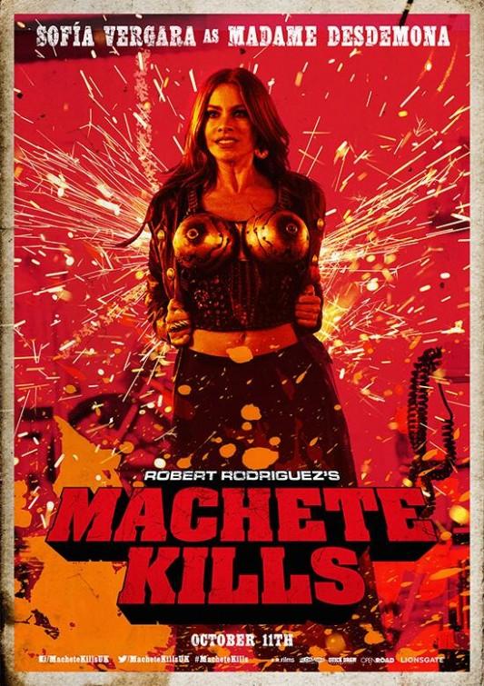 Machete Kills DVD Rele...
