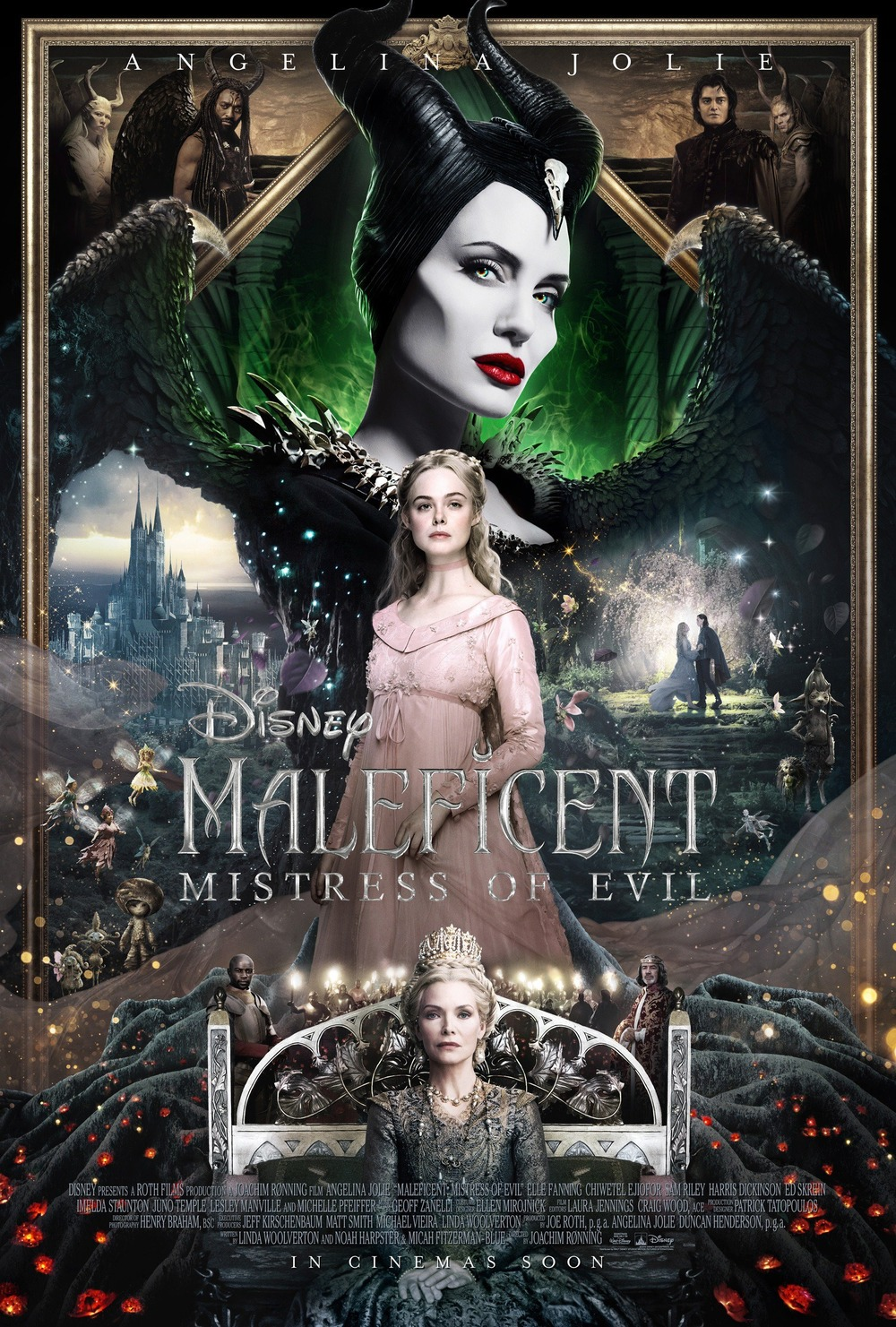 Maleficent Mistress Of Evil Dvd Release Date Redbox