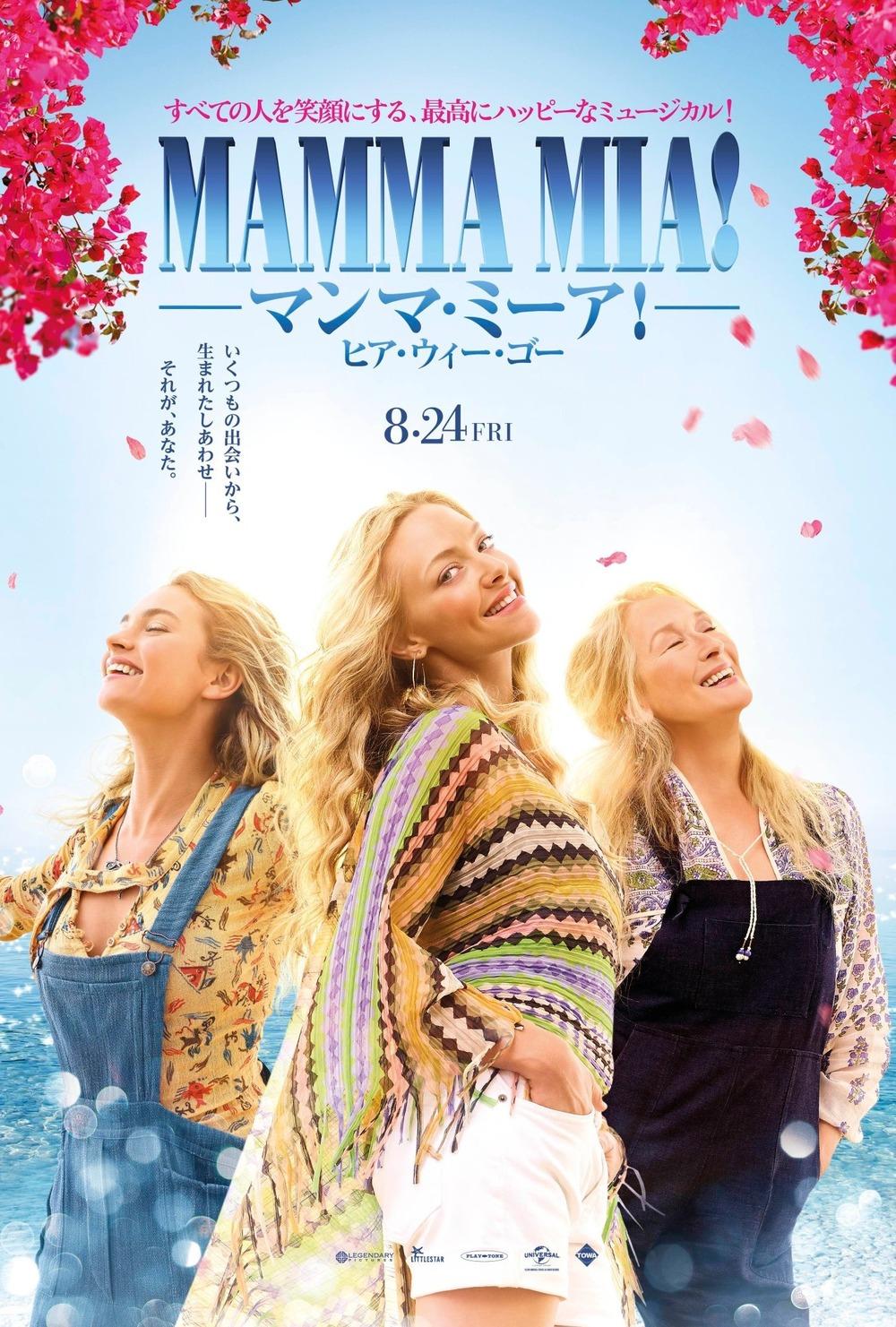 Mamma Mia! Here We Go Again Besetzung