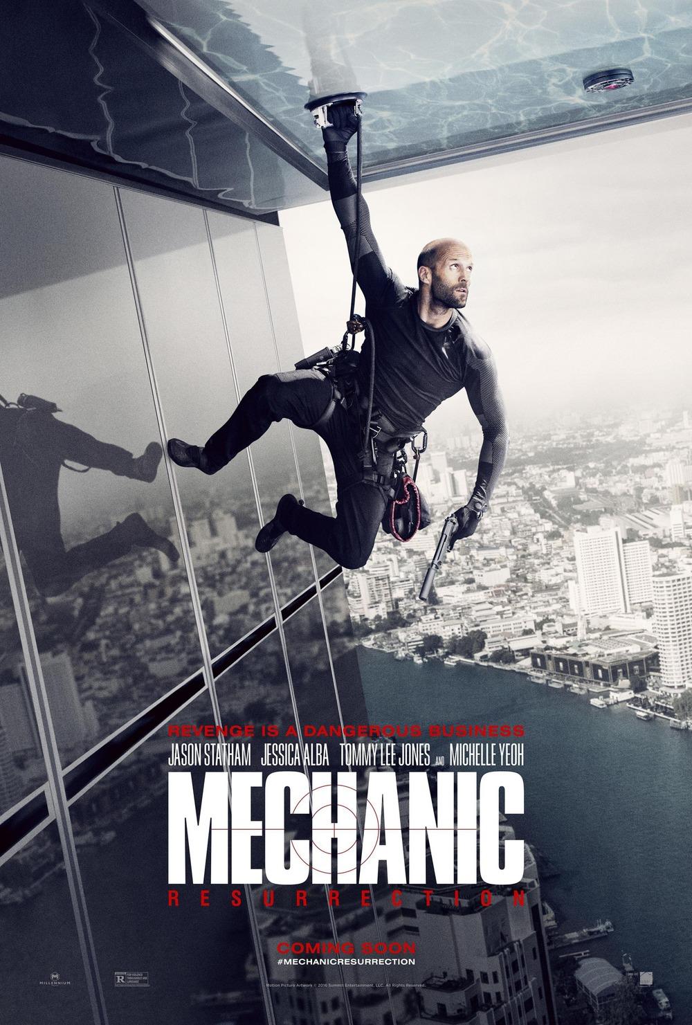 mechanic resurrection dvd release date redbox netflix itunes amazon